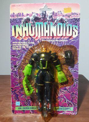 Inhumanoids Digger Vintage Action Figure 80s Toy for Sale in Marietta, GA