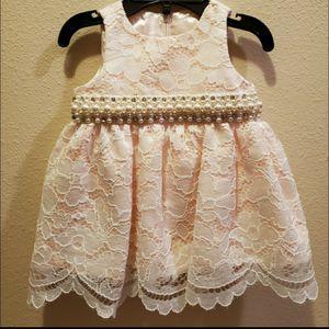 Baby Girl 6m 6 Months Fancy Elegant Party Dress Flower Girl EUC for Sale in Edinburg, TX