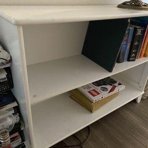 White Book Case for Sale in Yucaipa, CA