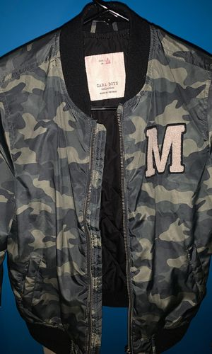 Zara boys bomber jacket size 8 for Sale in Washington, DC