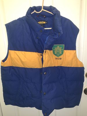 POLO RALPH LAUREN RUGBY VEST SZ XL for Sale in Arlington, VA