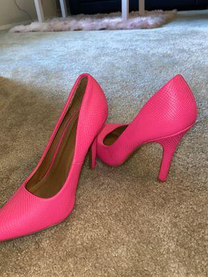 Hot Pink Stilettos size 7/8 for Sale in Glen Burnie, MD