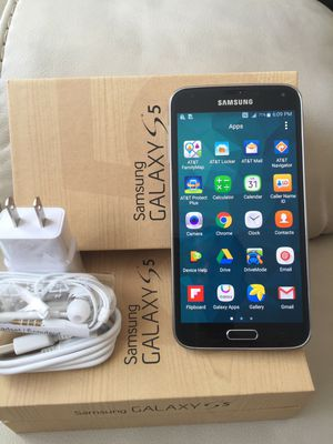 Samsung Galaxy S5: Excellent Condition , Factory unlocked. for Sale in Springfield, VA