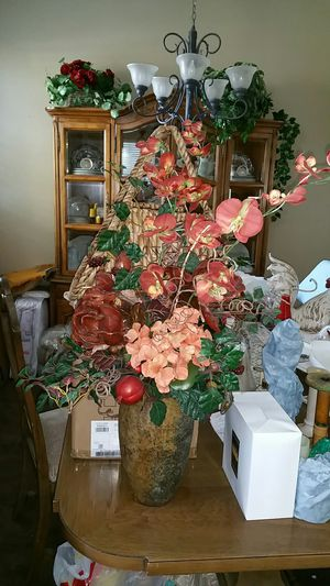 Faux flower arrangement for Sale in Fresno, CA