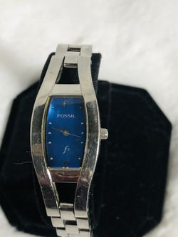 Beautiful Blue Fossil Watch for Sale in Chino,  CA