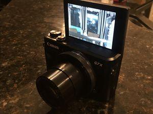 Canon g7x mark ii for Sale in Bridgeport, CT