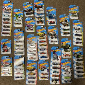 Huge Collection Of 2018 50th Anniversary Hot wheels for Sale in Providence, RI