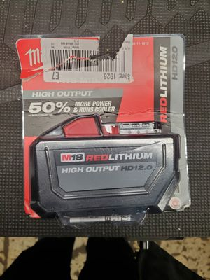 milwaukee m18 12.0hd battery for Sale in Lombard, IL