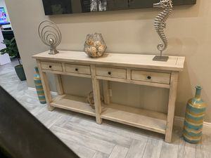 Wooden console table for Sale in Rancho Santa Margarita, CA