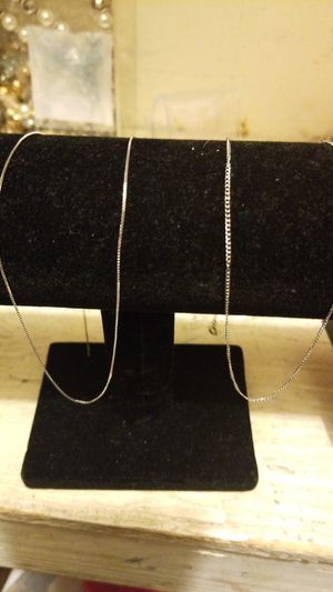 2 WHITE GOLD CHAIN COMBO for Sale in Springfield, VA