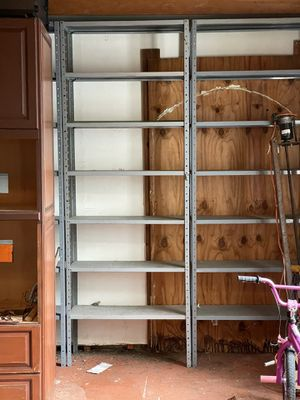 12' deep 36' wide metal shelving 10 left for Sale in West Palm Beach, FL