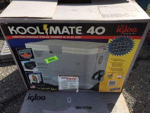 Igloo Kool Mate 40 Quart Portable Electric Cooler Warmer 12V Model 6400 for Sale in Canton, MI