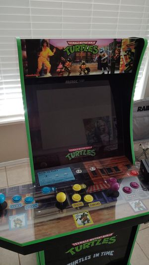 Teenage mutant Ninja turtles arcade 1 up tmnt for Sale in Sun City, AZ