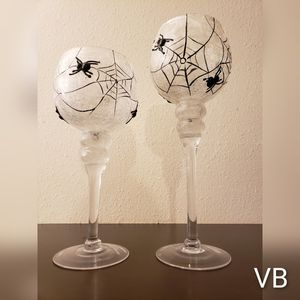 Spiderweb Candle Holders Set of 2 for Sale in Tampa, FL