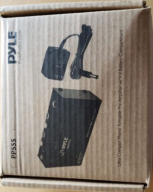 PYLE PP555 - Ultra Compact Phono Turntable Pre-Amplifier for Sale in Buena Park, CA