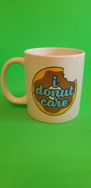 """I DoNut Care"" Mug for Sale in Milton, PA"