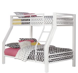 White Twin/Full Bunk Bed for Sale in Franklin, AL
