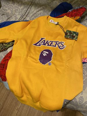 BAPE LAKERS ONLY CHAMPS for Sale in San Diego, CA