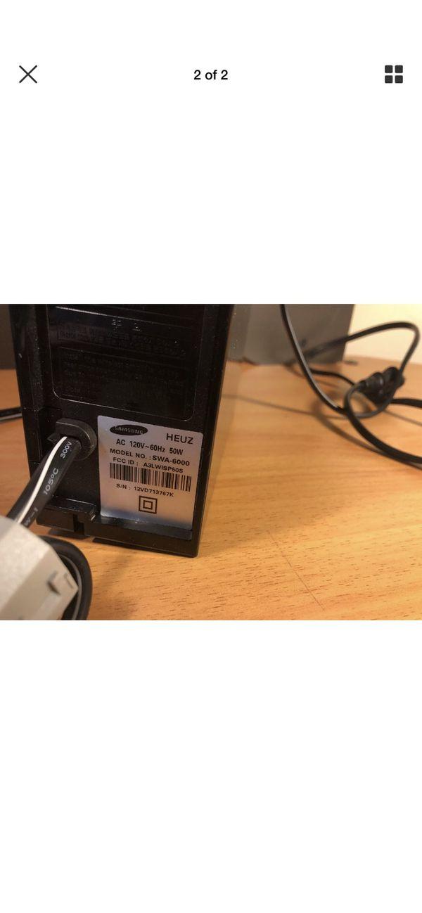 Samsung SWA-6000 Wireless Rear Speaker Module.
