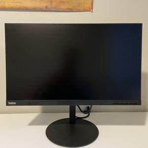 """Lenovo 1440p Wide QHD IPS 24"""" Monitor for Sale in Yakima, WA"""