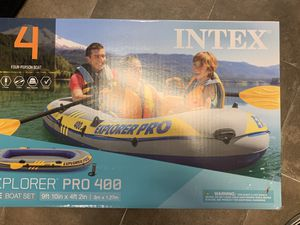 EXPLORER PRO 400 inflatable boat for Sale in Killeen, TX