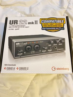 Steinberg Audio Interface for Sale in Houston, TX
