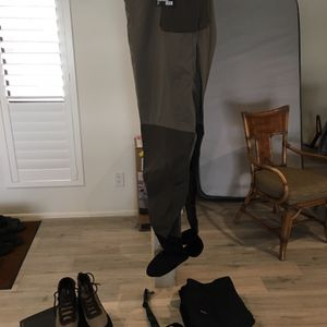$600 Brand new High End Big Mans lot: Simms, Northface, Korkers for Sale in Glendale, AZ