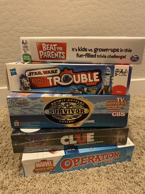 Games / Puzzles for Sale in Gilbert, AZ