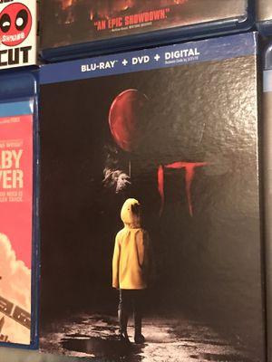 IT Blu-ray DVD for Sale in Gardena, CA