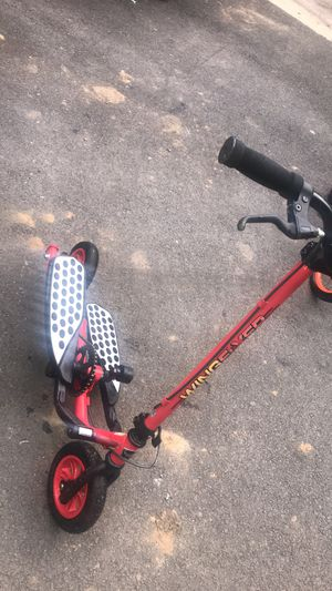 Zike WingFlyer Z100 Kids Elliptical Stepper Type Fitness Scooter Red for Sale in North Potomac, MD
