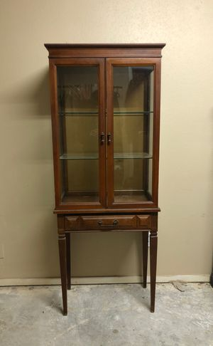 Antique display case for Sale in Cypress, TX