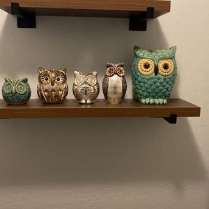 Ceramic owls for Sale in Buckeye, AZ