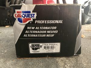 Car Quest Alternator (Part No. 7764-P66AN) for Sale in Houston, TX