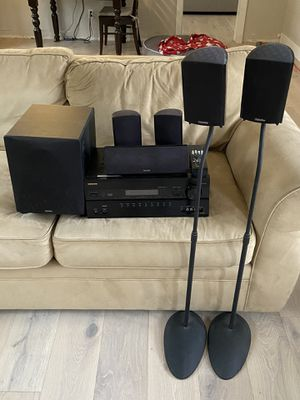 Onkyo 7.1 Receiver and Definitive Technology 5.1 Speakers for Sale in Fullerton, CA