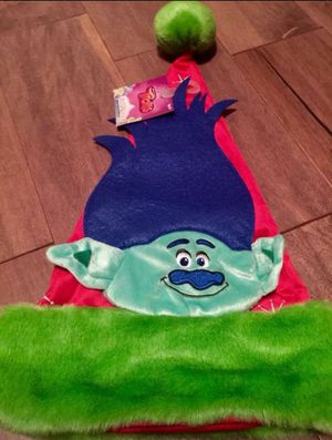 New Trolls red CHRISTMAS Santa Hat for ages 3+ for Sale in Saint Petersburg, FL