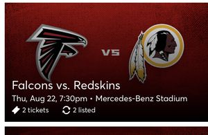 Falcon Game this Thursday 8/22 for Sale in Douglasville, GA