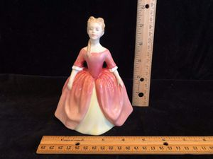 Debbie by Royal Doulton HN 2400 lady in pink red dress for Sale in Puyallup, WA