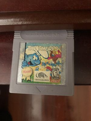 The Smurfs Gameboy Game for Sale in Gulfport, MS