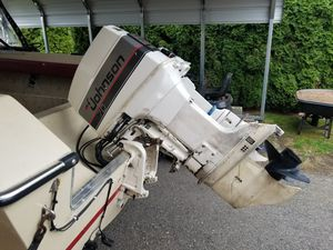 1988 Johnson 70hp 2 stroke oil injection for Sale in Ravensdale, WA