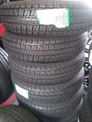 St 205/75/15 SET OF BRAND NEW TRAILER TIRES $215 for Sale in Phoenix, AZ