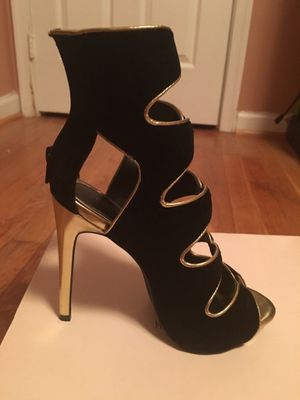 Black and gold stiletto for Sale in Fairfax, VA