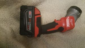 Brand new leg flashlight with new 5.0 battery for Sale in Conroe, TX