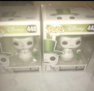 Snowman Jack Funko Pops for Sale in Lakeland, FL