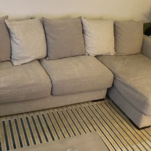 Large Grey Couch (117in x 64in) for Sale in Nashville, TN