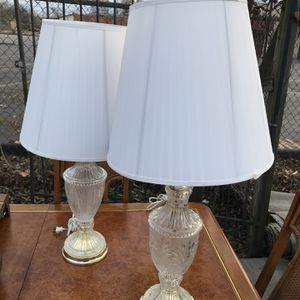 Crystal /Glass Lamps for Sale in Columbus, OH