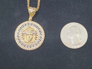 10K Gold Versace-like Pendant for Sale in San Diego, CA