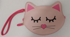 Betsey Johnson Kitty Cat coin purse wristlet for Sale in Costa Mesa, CA