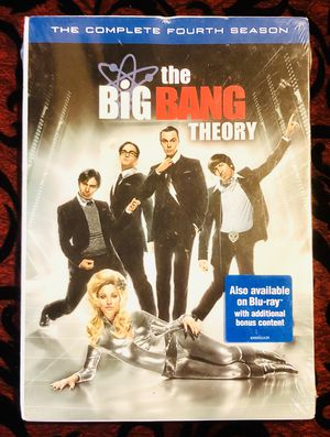 NEW the BiG BANG THEORY TV Series The Complete Fourth Season Sealed!! for Sale in Orlando, FL
