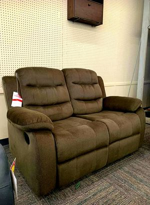 ☑ Special for Black Friday ‼ Brownie Cocoa Short Plush Reclining Living Room Set | U8400 SAME DAY DELIVERY for Sale in Jessup, MD