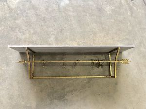 Pottery Barn Hook Shelf Entry Home Decor for Sale in Washougal, WA